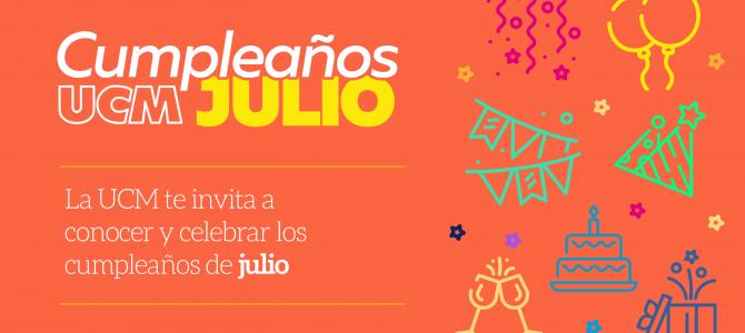 ¡Feliz cumpleaños para nuestros compañeros que celebran su vida en Julio!