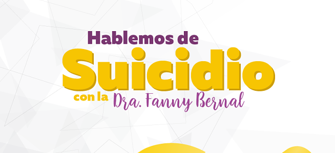 """En la UCM desarrollaremos la charla """"Hablemos de Suicidio"""""""
