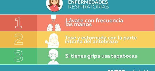 Tips para evitar enfermedades respiratorias