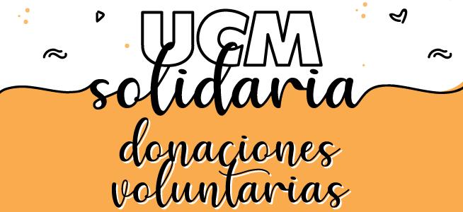UCM Solidaria: formas de pago