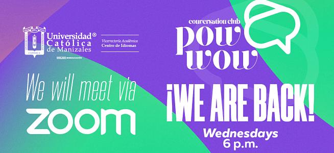 ¡Conoce más del Pow Wow y participa el próximo miércoles!