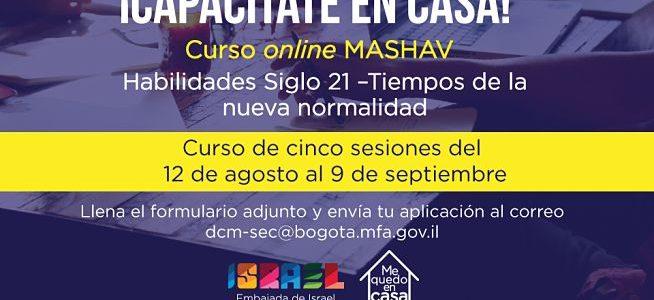 La Embajada de Israel en Colombia abre curso online para ti