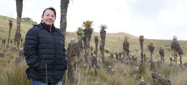 Profesora de Ingeniería Ambiental sensibiliza sobre el cuidado de los páramos