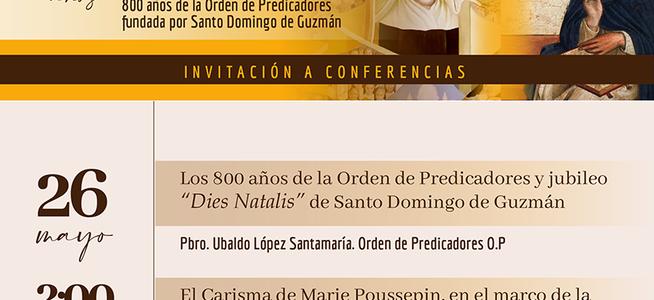 Este 26 de mayo, participa de las celebraciones de la fundación de la Congregación Hnas. Dominicas de la Presentación