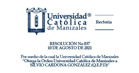 Se otorgó Orden UCM y Orden Hermanas Dominicas de la Presentación a Silvio Cardona González